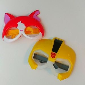 4/$15 🌻 Set of 2 Kids Character Costume Masks